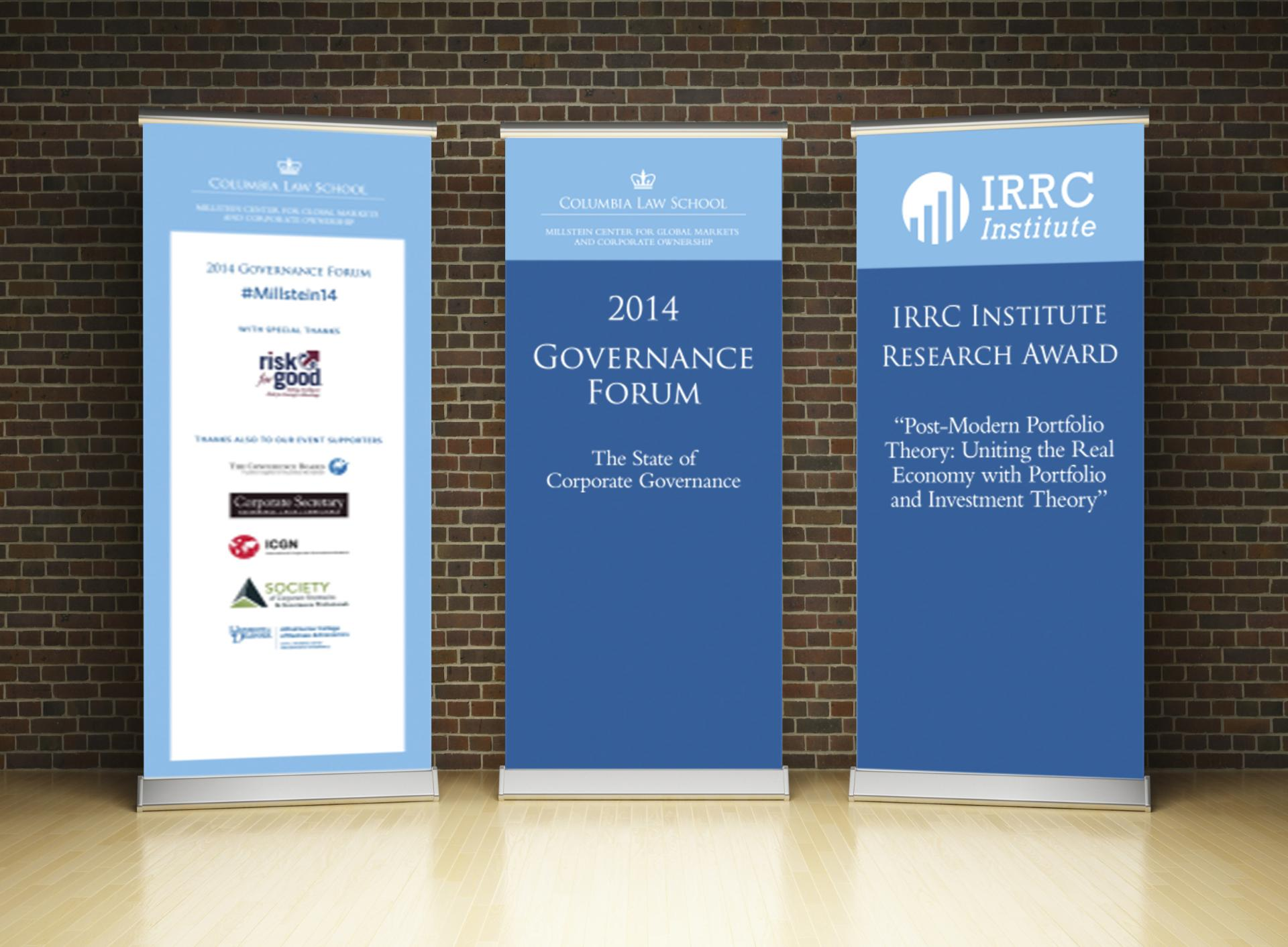 Retractable Banner samples.